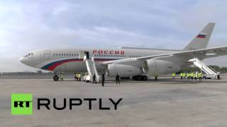 RAW: Putin lands in US to speak at UNGA