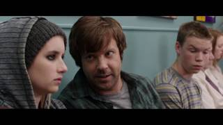 We're the Millers 2013- David's funny barber shop scene (HD)
