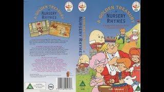 A Golden Treasury of Nursery Rhymes (1991 UK VHS)