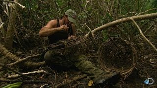 Making a Survival Crab Trap | Dual Survival
