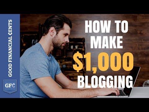 Xxx Mp4 Make Money Blogging 💻 From 0 To 1 000 Per Day 2018 3gp Sex