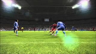 PES 2013: Aguero solo goal!