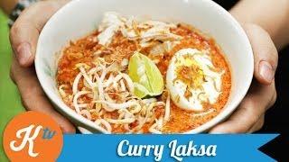 Resep Kari Laksa Singapura (Singaporean Curry Laksa Recipe Video) | REINER