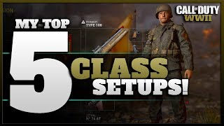 My Top 5 Best Class Setups (Divisions) in the CoD WW2 Beta So Far!