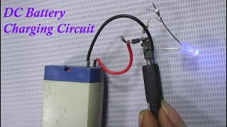How To Make DC Battery Charging Circuit With Voice In Bengali Language (100% Works)