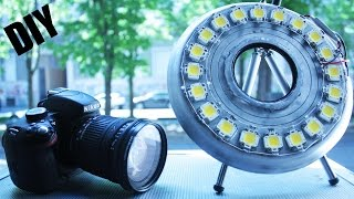 How to make • 200W Ring-light 4 Video LED
