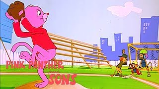 Pinky at the Bat | Pink Panther Cartoons | Pink Panther and Sons