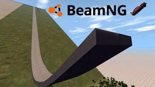 BeamNG Drive Gameplay - Brutal Slope 2.0 - HUGE CRASHES! - BeamNG Drive Funny Moments Highlights