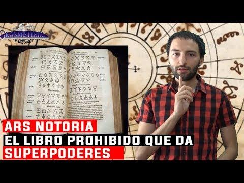 ARS NOTORIA El libro Prohibido que da SUPERPODERES al Lector