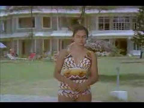 Madhavi in swim suit from Tik Tik Tik