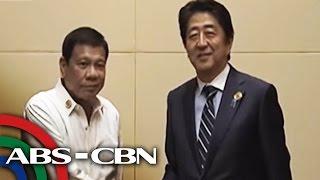 TV Patrol: Duterte, dumating na sa Japan