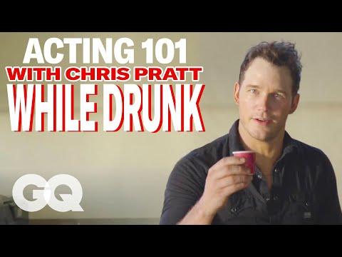 Chris Pratt's Drunk Acting Lessons   GQ Cover Star June 2015