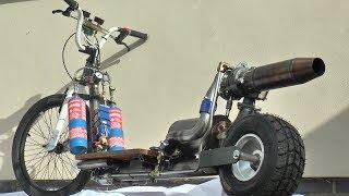 TurboJet Scooter Build #2-Oil/Fuel/Test Fire