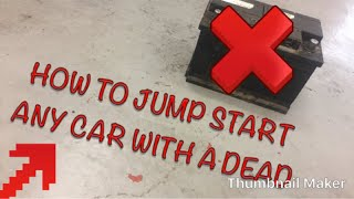 How to Bump Start any Car with a Dead Battery
