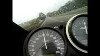 Kawasaki Ninja zx6r top speed