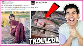 Funniest Photoshopping Troll On Twitter!