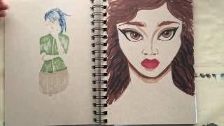 Sketchbook Flip Through 01
