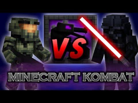 Minecraft Kombat Darth Vader vs Master Chief