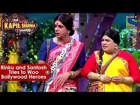 Xxx Mp4 Rinku Devi And Santosh Tries To Woo Bollywood Heroes The Kapil Sharma Show 3gp Sex