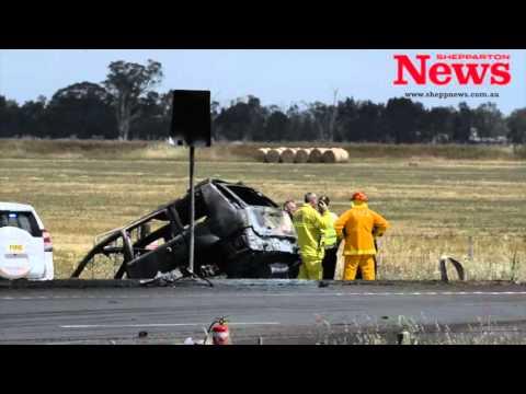 Katamatite-Shepparton Rd Fatal Crash.
