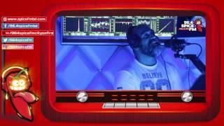 Jon Kabir feels the heat on The Tazz & Sammy Show