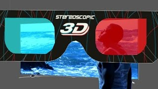 Social Song ENIGMA 3D (HD Anaglyph 3D)