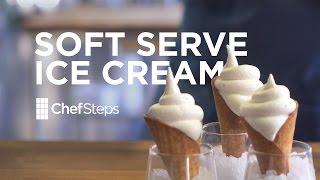 ChefSteps Soft Serve Ice Cream