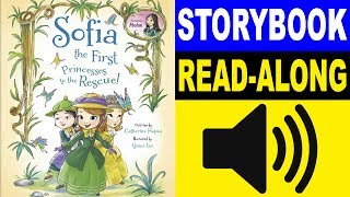 Sofia the First Read Along Story book   Princesses to the Rescue!   Read Aloud Story Books for Kids
