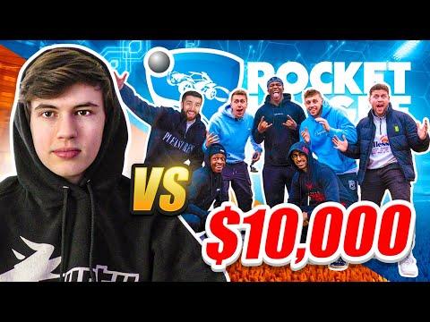 7 SIDEMEN VS 1 ROCKET LEAGUE PRO for 10 000