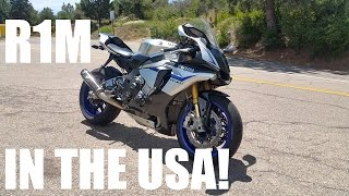 Yamaha R1M Test Ride Review! In America!