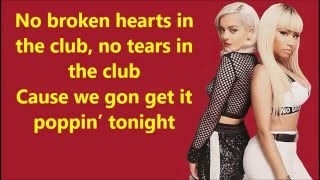 Bebe Rexha - No Broken Hearts (Clean) ft. Nicki Minaj