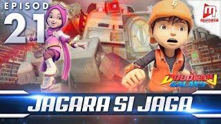 BoBoiBoy Galaxy EP21 | Jagara Si Robot Jaga - (ENG Subtitle)