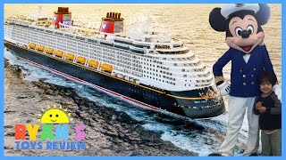 Family Fun Trip on Disney Cruise Fantasy 2016 Day 1