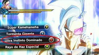 Nueva Transformacion ULTRA INSTINCT DOMINADO - Dragon Ball Xenoverse 2