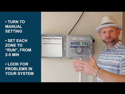 How to Check My Sprinkler System