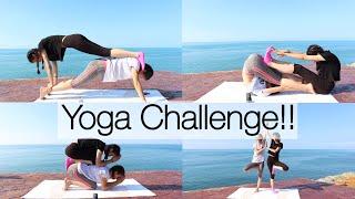 Çok Eğlendik | YOGA CHALLENGE !!