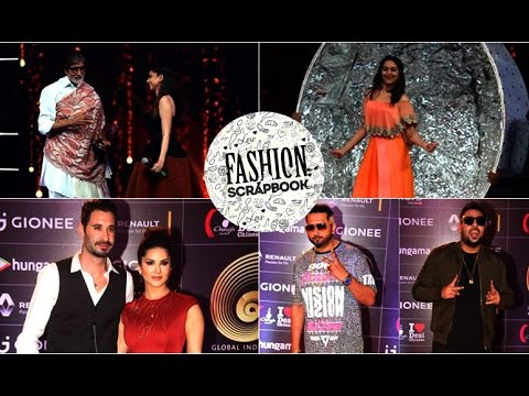Amitabh Bachchan, Sunny Leone, Sonakshi Sinha & Many More at GIMA 2016   Fashion Scrapbook