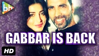 Akshay Kumar & Shruti Haasan's Exclusive Interview On Gabbar Is Back