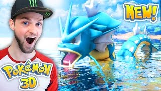 CAN WE CATCH THE BIGGEST POKEMON?! - (Pokemon 3D)