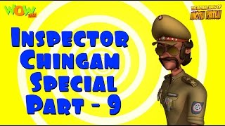 Inspector Chingam Special - Motu Patlu Compilation Part 9 As seen on Nickelodeon