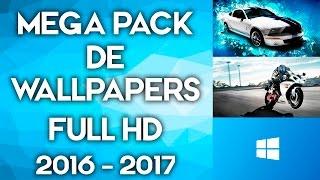 Como Descargar Mega Pack de wallpapers Full HD 2016