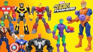 Marvel Super Hero Mashers Hobgoblin has a big Halloween Adventure with Green Goblin, Hulk, Thor!
