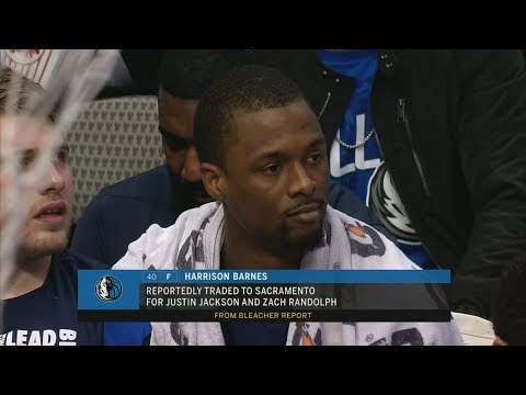 Download Harrison Barnes Traded Mid Game to Kings! 2018-19 NBA Season