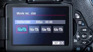 Canon: Demystifying HD Video on a DSLR Camera: Lesson 2 – Basic Camera Settings