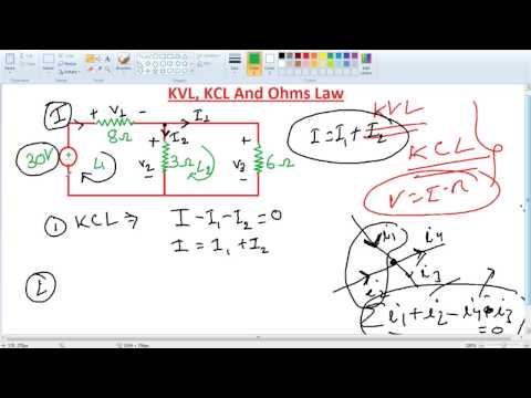 Xxx Mp4 Basic Electrical KVL KCL And Ohms Law 3gp Sex