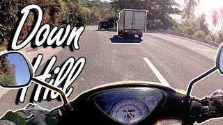 Motovlog: DownHill | Taal View Deck | Ligaya Drive | Mio | Tagaytay to Talisay Batangas | Part1