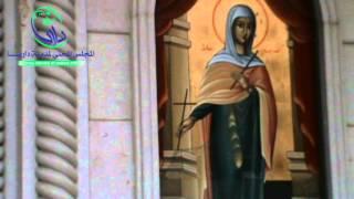 داريا 26-11-2012 قصف كنيسة القديسة تقلا الاثرية