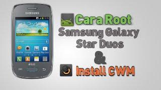 Cara Root Galaxy Star duos & Install CWM