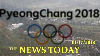 News Today 01/17/2018 | Donald Trump | North Korea To Send Cheerleaders To Olympics But Japan S...
