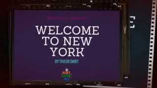 Taylor Swift Welcome To New York Lyrics